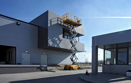 Hala Produkcyjna - Budowa