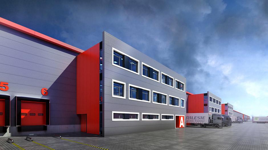 Centrum Logistyczne Architektura