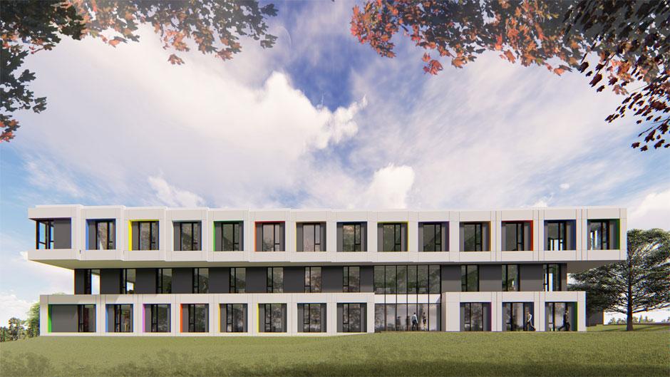 Projekt Nowego Budynku Biurowego Zakładów Kablowych Bitner