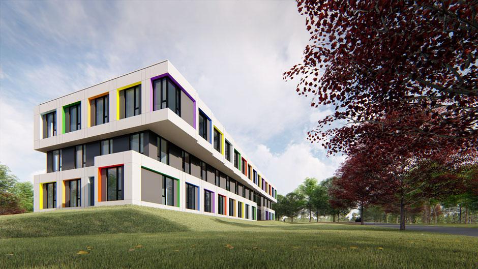 Rozbudowa Budynku Biurowego Zakładów Kablowych Bitner