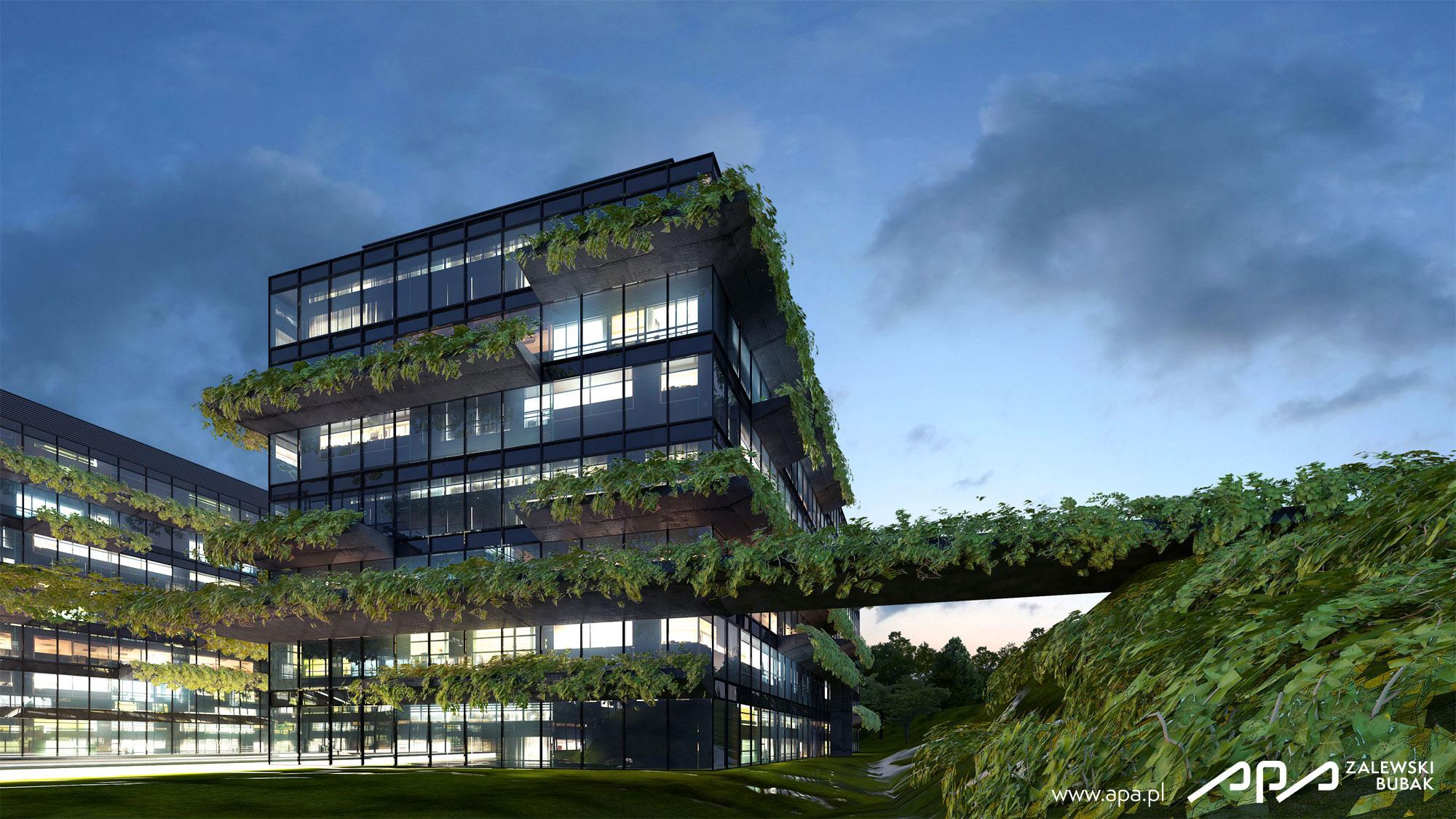 Projekt Zielonego Budynku Biurowego