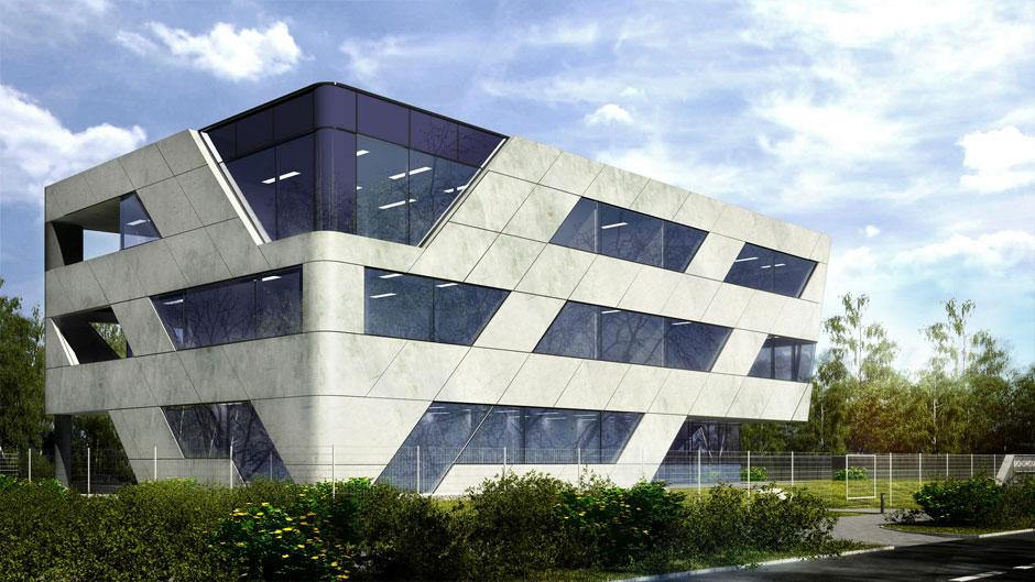 Projekt Budynku Biurowego