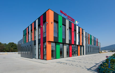 Waste processing facility - architectural project