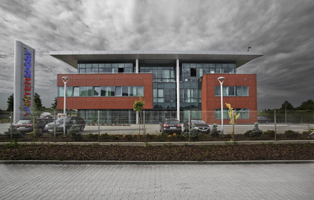 Warehouse and office building design