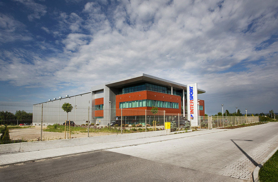 Office Building and Warehouse Architecture Design - Intersport