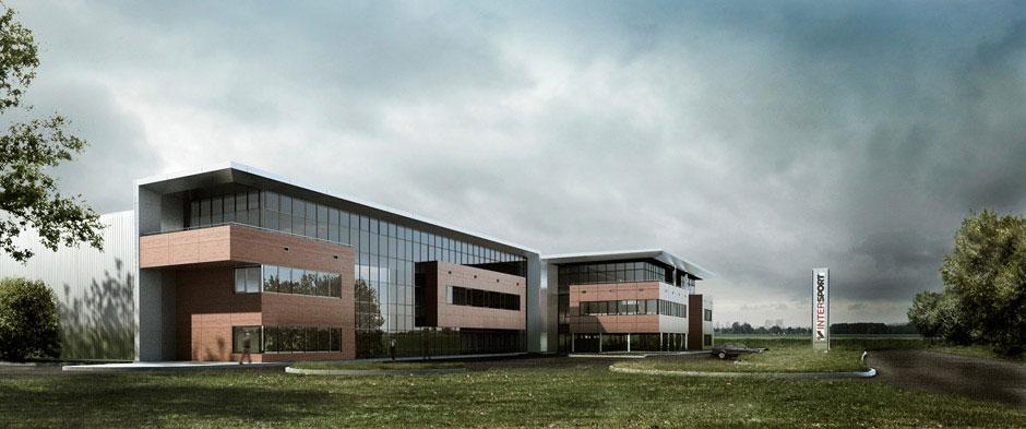 Projekt Centrum Logistycznego Intersport - etap II