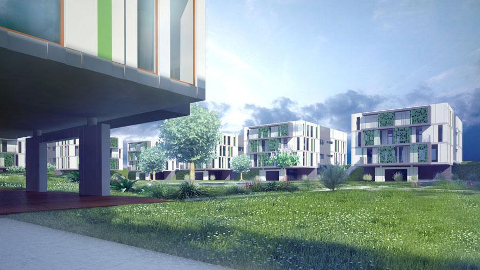Projekt Nowoczesnego Bloku Mieszkalnego