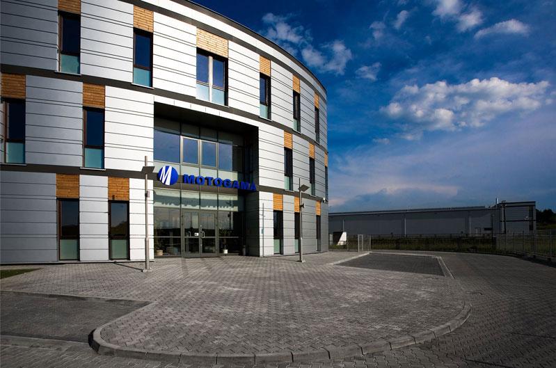 Projekt hali magazynowej Motogama - Architekt APA Zalewski Bubk