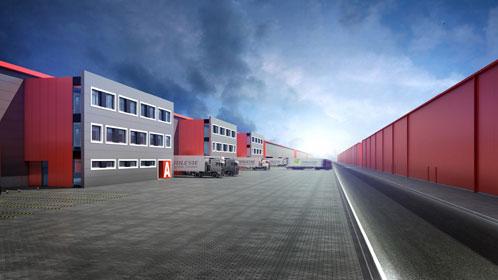 Projekt Centrum Logistycznego