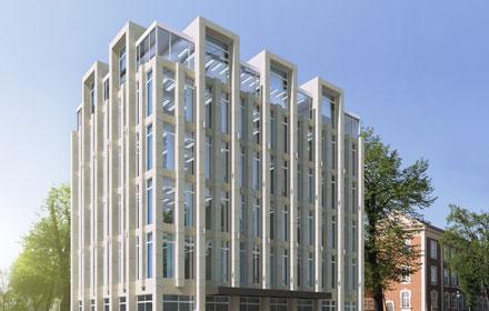 Budynek Biurowy w Rzeszowie - Projekt