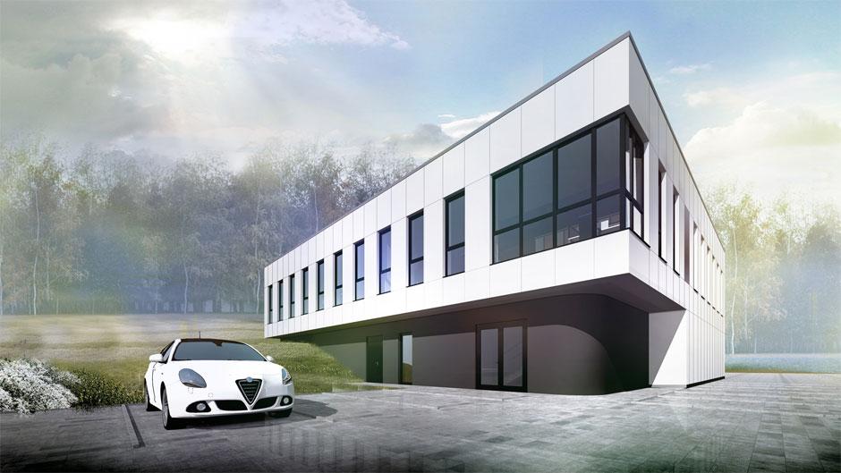 Projekty Budynków Biurowo Magazynowych