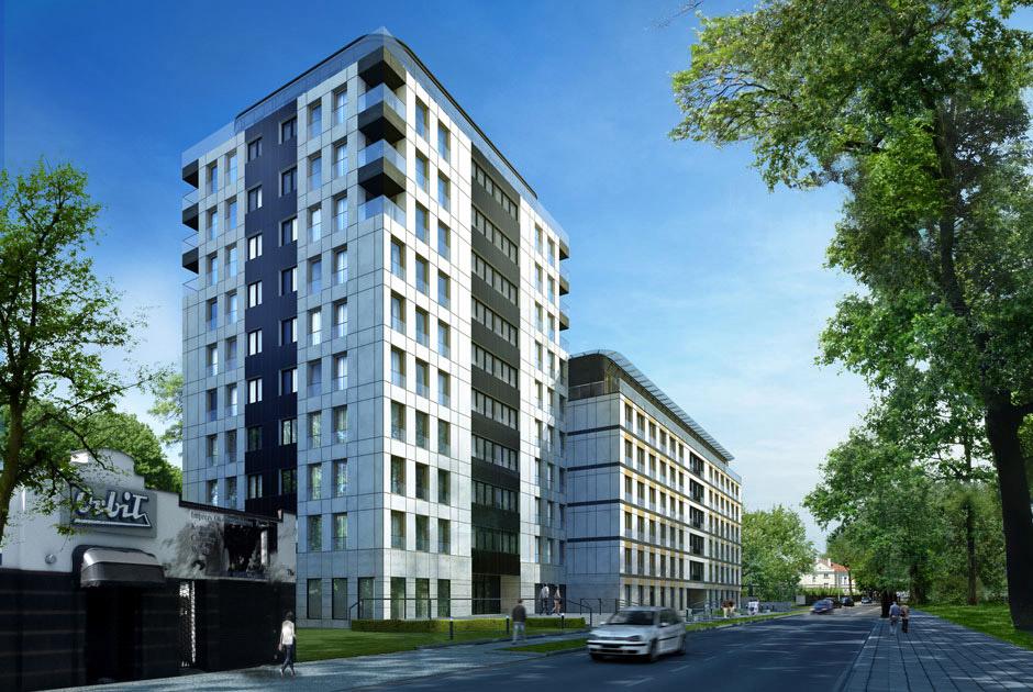 Projekt Apartamentowca Wrocławska 80