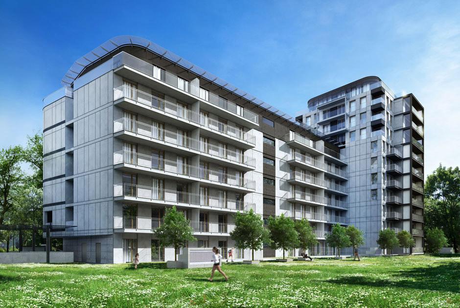 Projekt budynku mieszkaniowego wielorodzinnego Wrocławska 80
