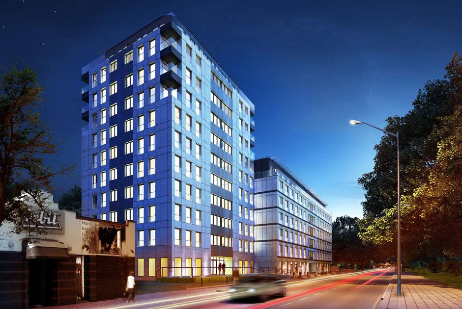 Projekt budynku mieszkaniowego wielorodzinnego Wrocławska 80 Kraków
